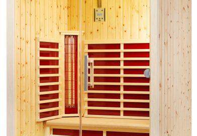Infrarotkabinen aus Zirbenholz